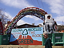St. Patrick's Day parade float 2010