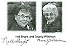 WASP members Nell Bright and Beverly Wilkinson