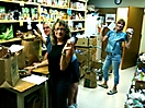A typical work day at the Food Bank